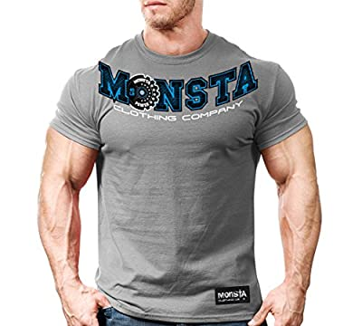 Monsta Clothing Co. Men's GearUp-Monsta (M-TEE218) T-shirt