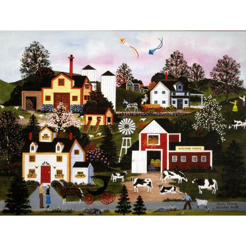 Cheap Wooster Scott Gifts Jane Wooster Scott Farm Charm 1000 piece (B005DPK10G)