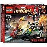 Lego Super Heroes - Marvel - 76008 - Jeu de Construction - L'ultime Combat - Iron Man Contre le Mandarin