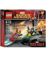 LEGO Super Heroes 76008 - Iron Man Contro The Mandarin