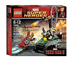Lego Marvel Super Heroes 76008 - Iron Man vs. The Mandarin Letzte Entscheidung