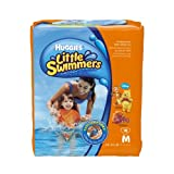 Huggies Little Swimmers Disposable swim Pants, Medium, 18 Count (Pack of 4)