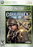 Activision Call Of Duty 3 Platinum Hits -Xbox 360