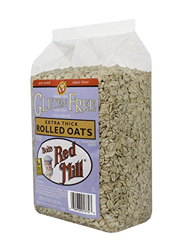 Bob's Red Mill Gluten Free Thick Oats, 32-Ounce (Pack of 4)