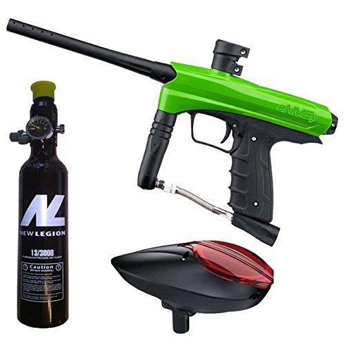 Kids Paintball Markierer cal.50 inkl. Loader und 0,2 Liter HP System - Green Mamba