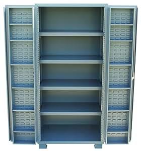 Jamco Products Inc Da236 Gp Plastic Bin And Shelf Cabinet 4 Inch Deep Doors With 4