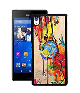 instyler DIGITAL PRINTED BACK COVER FOR SONY XPERIA M-4