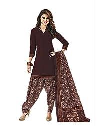 Aarvi Women's Cotton Unstiched Dress Material Multicolor -CV00078