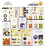 Doodlebug Designs Halloween Embellishment Value Pack