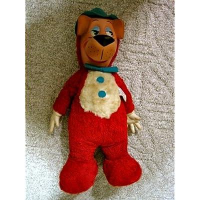VINTAGE Huckleberry Hound Plush Toy 1959 Hanna-Barbera Knickerbocker