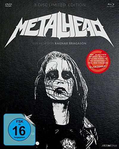 Metalhead - Limited 3-Disc Mediabook (DVD & Blu-Ray & Soundtrack-CD) [Edizione: Germania]
