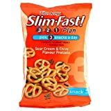 Slim.fast! Sour Cream & Chive Pretzels Snack Bag 23g