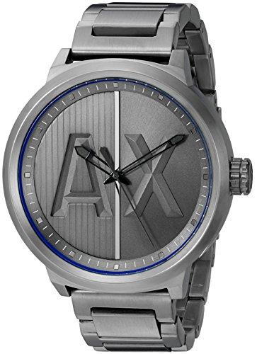 Armani-Exchange-Mens-AX1362-Analog-Display-Analog-Quartz-Grey-Watch