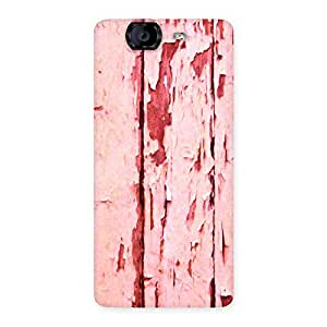 Delighted Ripped Wood Print Back Case Cover for Canvas Knight A350
