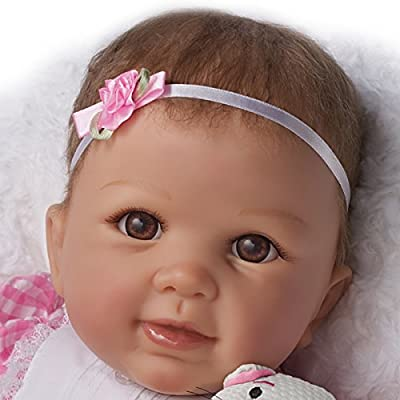 Kitten Kisses Ashton Drake Baby Girl Doll With Toy Kitten by Linda Murray from The Ashton-Drake Galleries