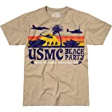7.62 Design Men's T Shirt USMC 'Beach Party'