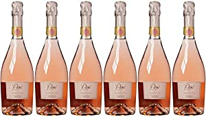 Bolla Sparkling Rose Non Vintage Wine 75 cl (Case of 6)