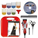 Wahl 9484-300 U Clip Deluxe Pro Home Pet Grooming Kit by Wahl Professional Animal