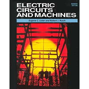 electric circuits and machines lister pdf