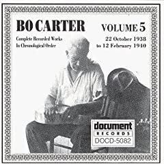 Complete Recorded Works In Chronological Order, Vol. 5, 1938-1940 by Bo Carter