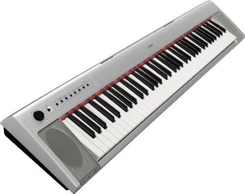 Yamaha NP31S Portable Keyboard - Silver