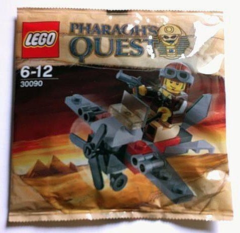 LEGO Pharaohs Quest Set #30090 Desert Glider Bagged - 1