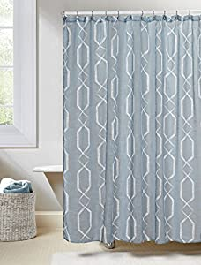 Duck River Textiles Arcadia Shower Curtain Blue
