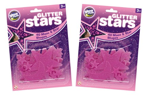 The Original Glowstars Company - Pegatinas para pared y cristal (Brainstorm B8989) [Importado de Inglaterra]
