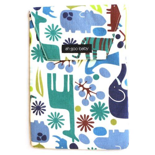 Imagen de Ah Goo Baby La bolsa de pañales, Azul, Verde