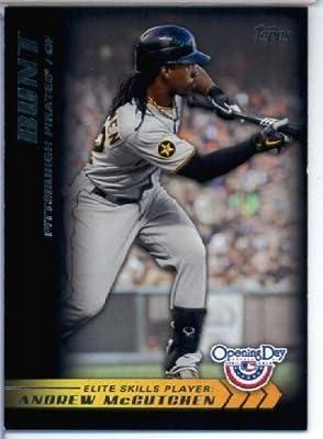 2012 Topps Opening Day Elite Skills Baseball Card #ES6 Andrew McCutchen - Pittsburgh Pirates - MLB Trading Card