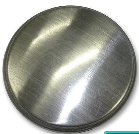 Kitchen Sink Tap Hole Blanking Plug Cover Plate Disk In Either Polished Or Brushed Finish (Polished Finished)