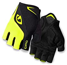 Giro Bravo Gloves (Black/Highlight Yellow, L) - Men's