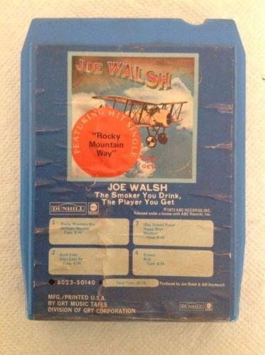 Joe Walsh - Joe Walsh The Smoker You Drink, The Player You Get 8 Track Tape - Zortam Music