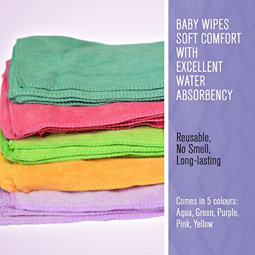 25-aqua-micro-fibre-cloth-baby-wipes-cloths-towels-for-cleaning-face-hands-body-polish-surfaces-quic