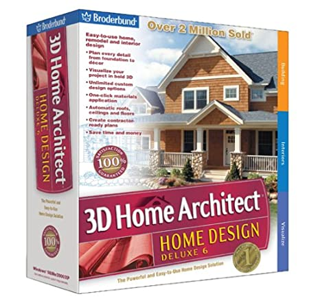 Broderbund 3D Home Architect Home Design Deluxe 6 - Old Version
