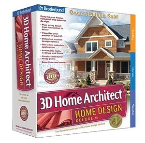 Broderbund 3d home architect home design deluxe 6 old version for 3d home architect home design 6