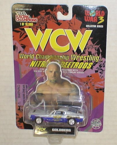 Wrestling Wcw Goldberg 1:64 Car