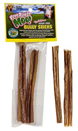 10 sticks 5 6 standard bully sticks free range moo. Black Bedroom Furniture Sets. Home Design Ideas