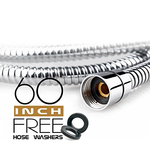 Shower Hose 60 inch (5 Ft.) for Hand Held Showerhead
