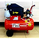 COMPRESSORE ARIA FINI AMICO 25/2400 NEW Lt.25 HP2 BAR 8