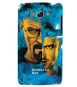 ColourCrust Samsung Galaxy J7 Mobile Phone Back Cover With Breaking Bad - Durable Matte Finish Hard Plastic Slim Case