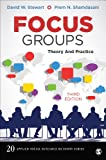 Focus Groups: Theory and Practice (Applied Social Research Methods)
