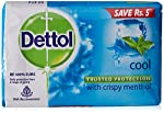 Dettol Soap Value Pack, Cool - (3 Pieces X 125 g) Save Rs 5