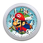 Super Mario Background Wall Clock!Nic...