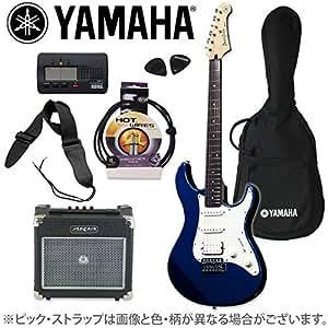 ヤマハ×オフプライス楽器特別企画 PACIFICA 012 Dark Blue Metallic アンプ&チューナーセット