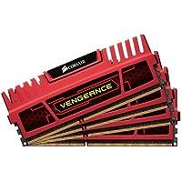Corsair Vengeance Red 16GB 4x4GB DDR3 1866 MHZ PC3 15000 Desktop Memory