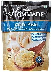 Dabur Hommade Garlic Paste, Pouch, 200g
