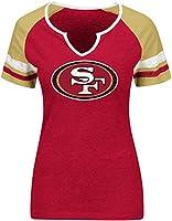 NFL Sweet Game Short Sleeve Raglan Fashion Top by VF Imagewear- NFL