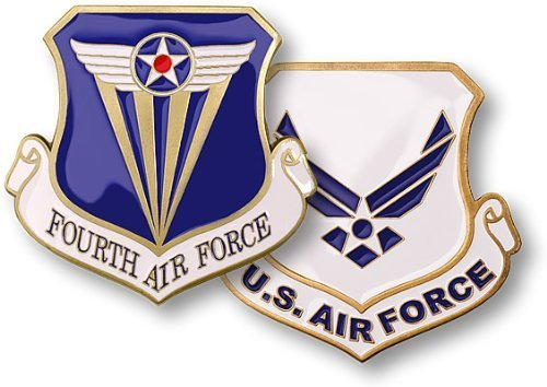 Fourth Air Force Challenge Coin