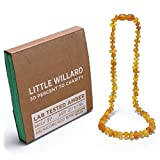 Little Willard Baltic Amber Teething Necklace (Honey Raw)